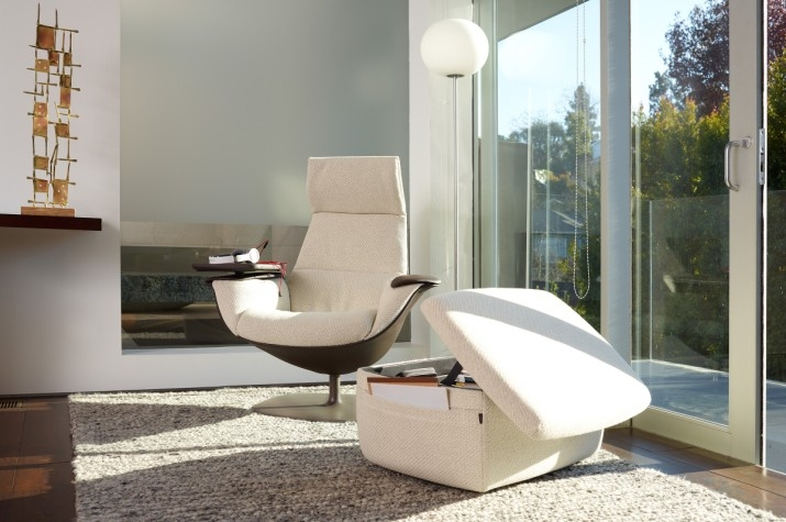 Massaud lounge collection linstram - Fauteuil relax solde ...