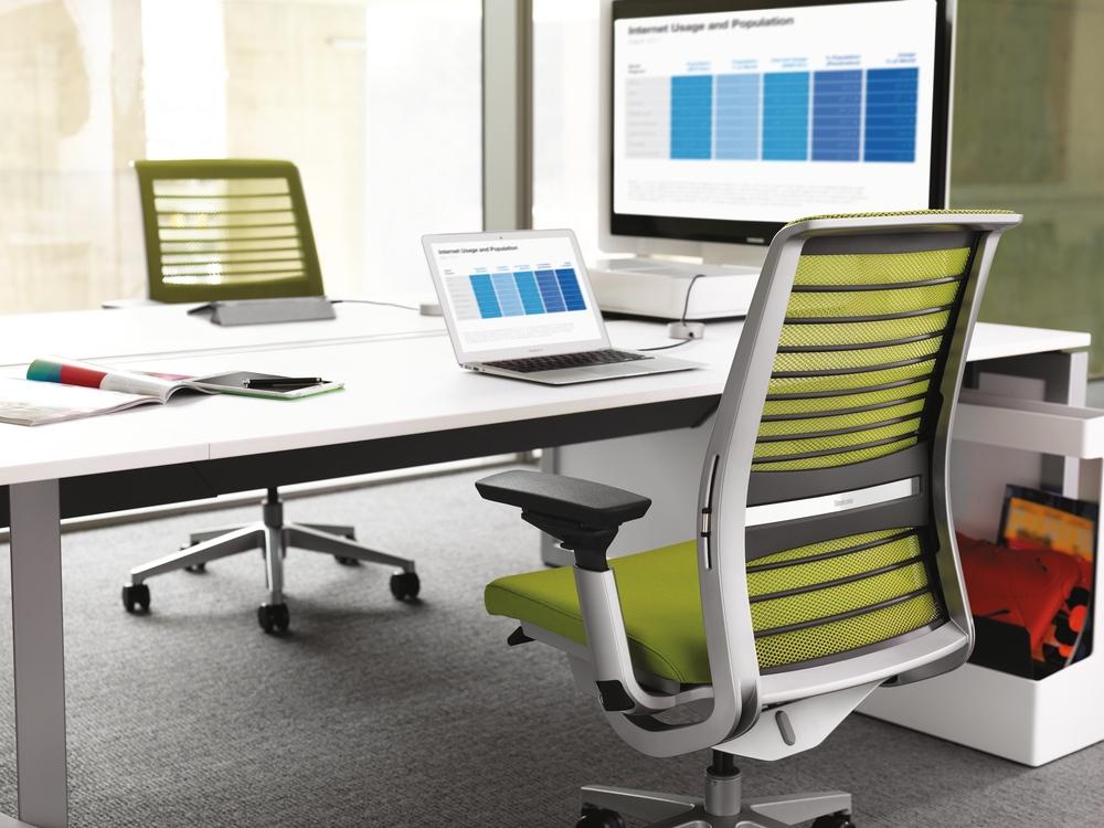 steelcase linstram. Black Bedroom Furniture Sets. Home Design Ideas